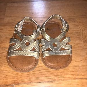 3 pairs of adorable Baby Gap 0-3 month shoes